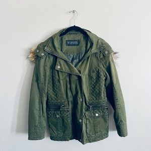 Guess Army Green Jacket